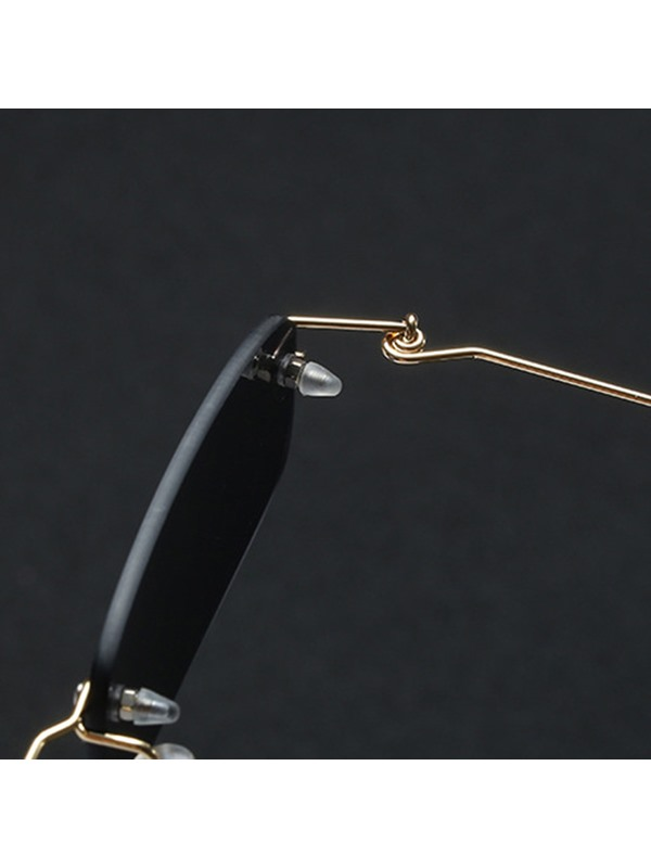 Fashion Anti UV Rimless Sunglasses
