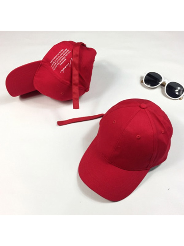 Hip Hop Style Cotton Baseball Cap Sun Hat