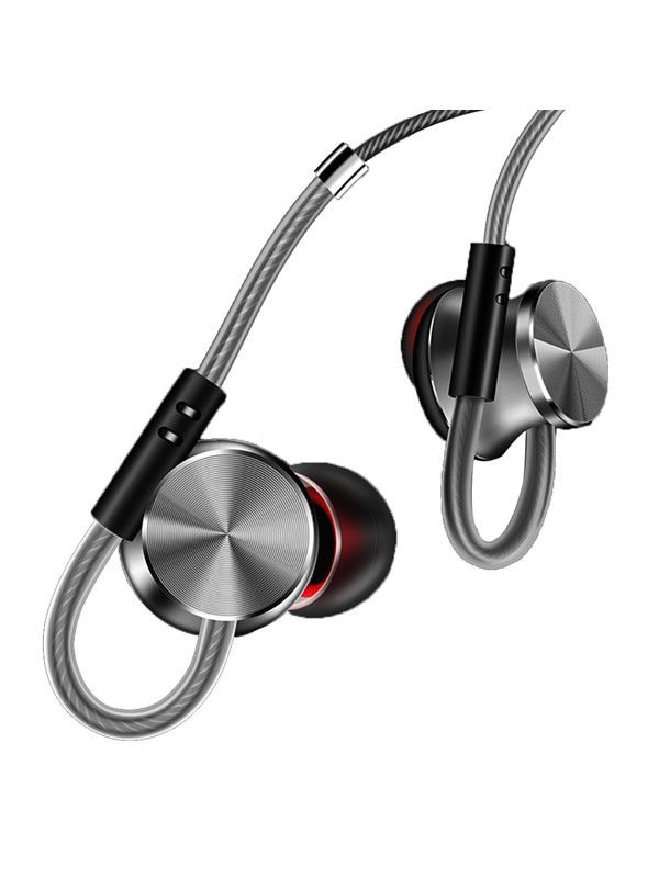 The New 2017 W3 Metal Magnetic Suction Sports Phone Headset With Bass Earbuds