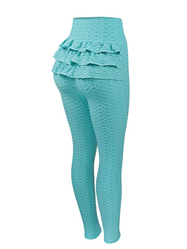 Textured Stretchy Breathable Women's Leggings