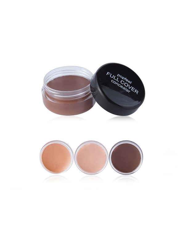 Lady Full Cover Makeup Concealer Eye Dark Circles Cream Face