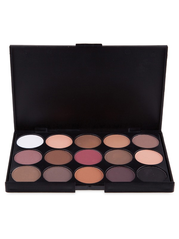 15 Earth Color Shimmer Matte Eyeshadow