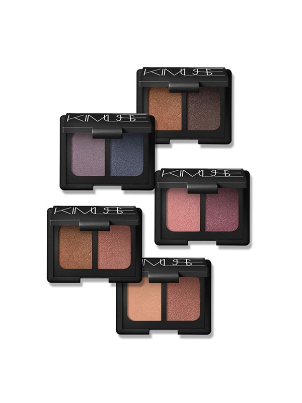 Double Color Shimmer Earth Color Eye Shadow