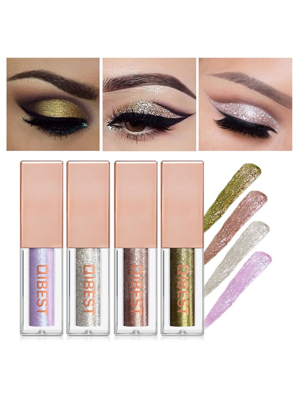Crystal Luster Metallic Shiny Single Glitter Eyeshadow