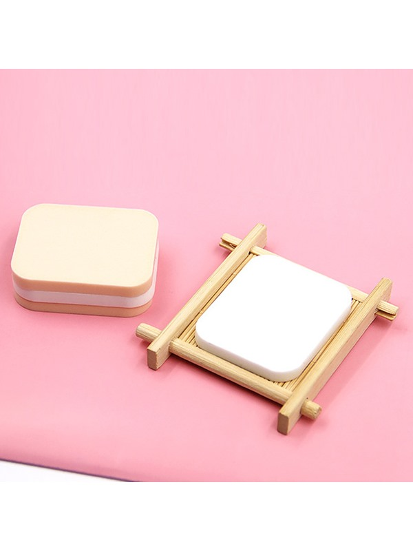 2 Pcs Dry Wet Dual-Use Powder Puff