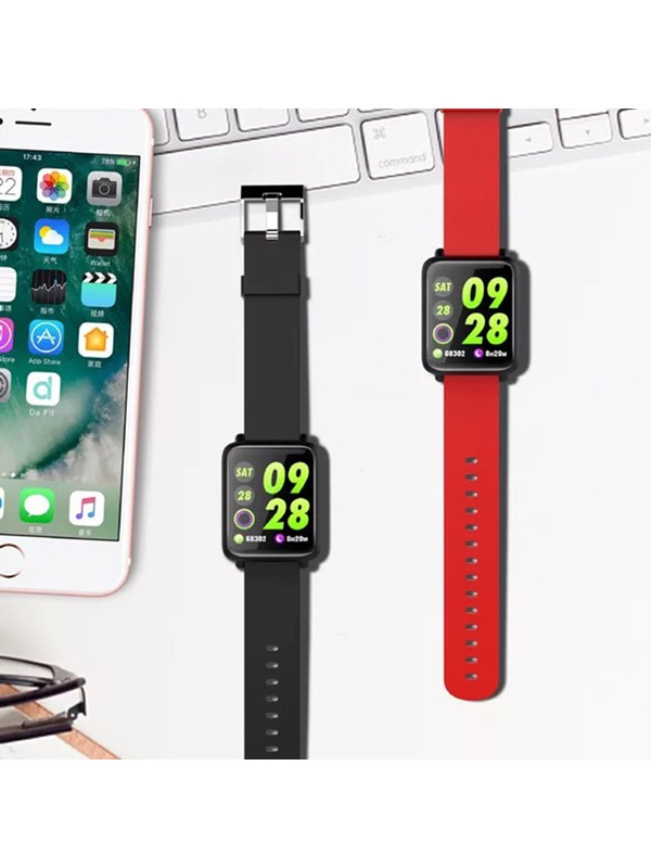 Push Message Touch-Screen Silicon Smart Bracelet