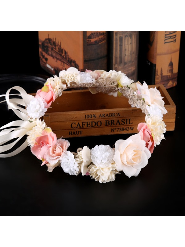 Korean Floral Handmade Hair Accessories (Wedding)