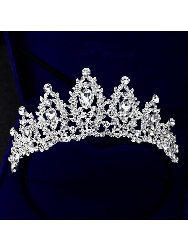Crown European Tiara Hair Accessories (Wedding)