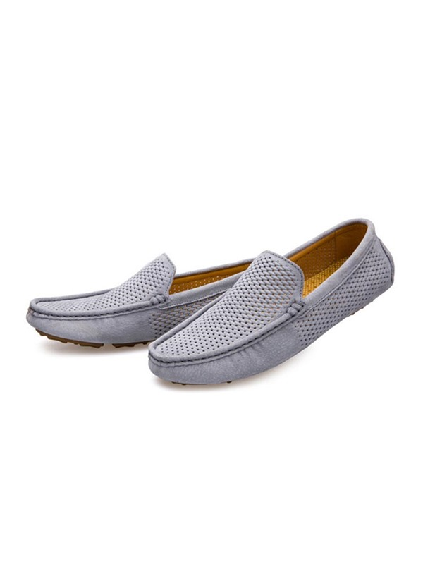 PU Round Toe Men's Loafers