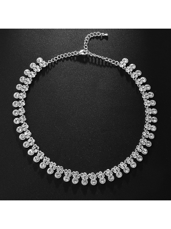 E-Plating European Floral Jewelry Sets (Wedding)