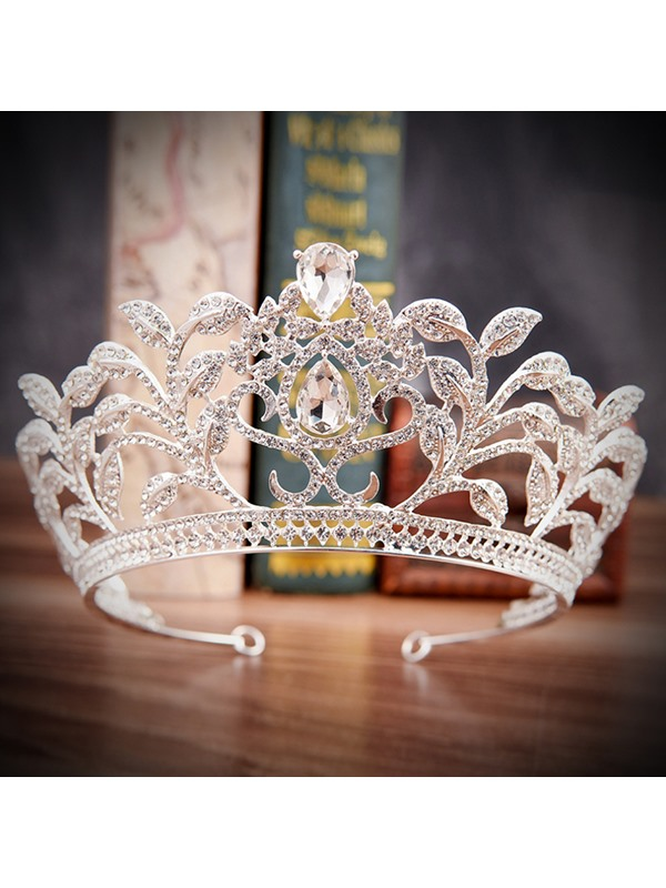 Tiara European Crown Hair Accessories (Wedding)