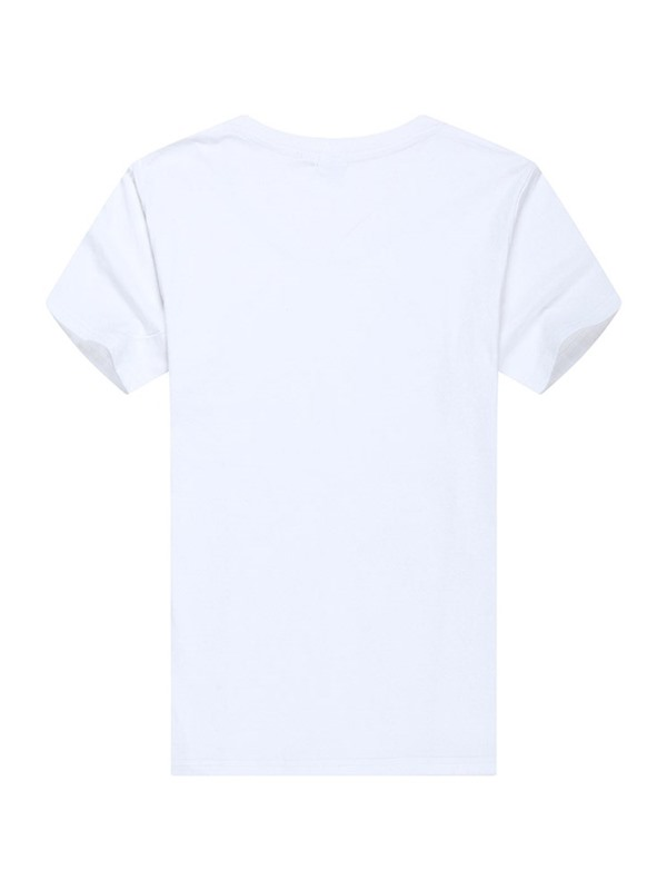 Color Block Letter Print Slim Men's T-Shirt