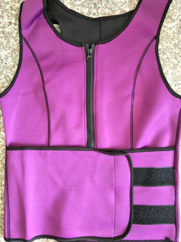 Color Block Patchwork Sleeveless Women's Corset