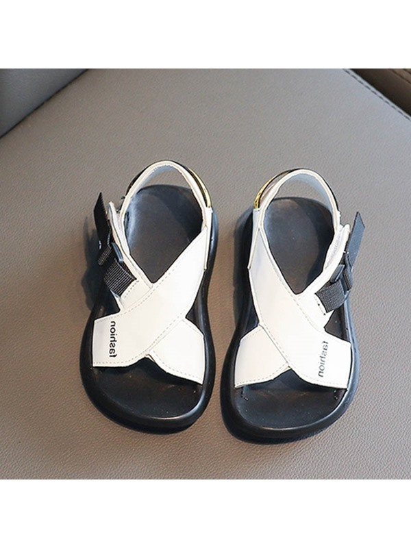 Simple Summer Velcro Kid's Sandals