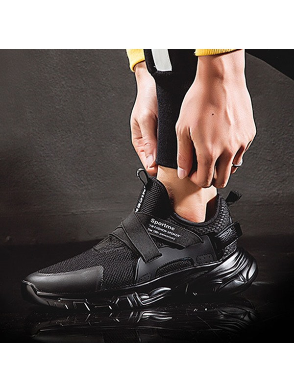 Sports Lace-Up Mesh Men's Sneakers