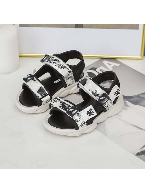 Summer Color Block Simple Kid's Sandals