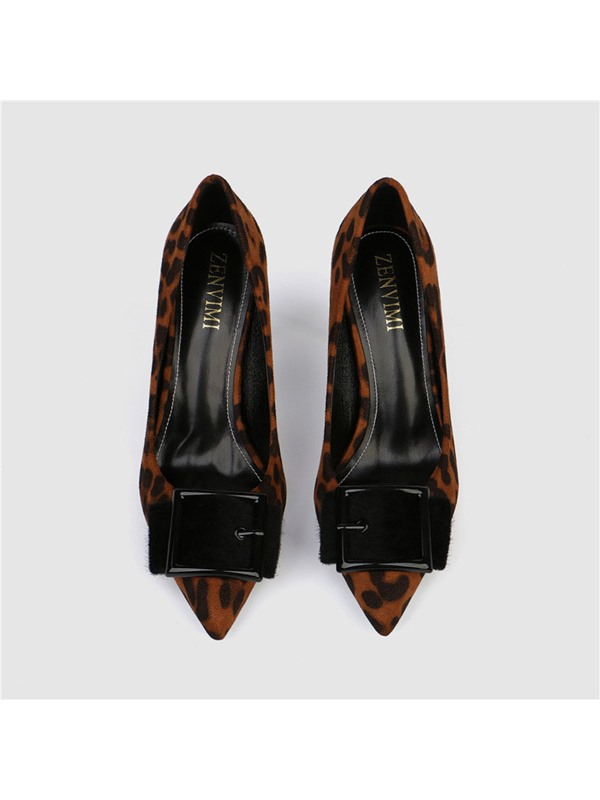 Slip-On Pointed Toe Stiletto Heel Sexy Women's Pumps
