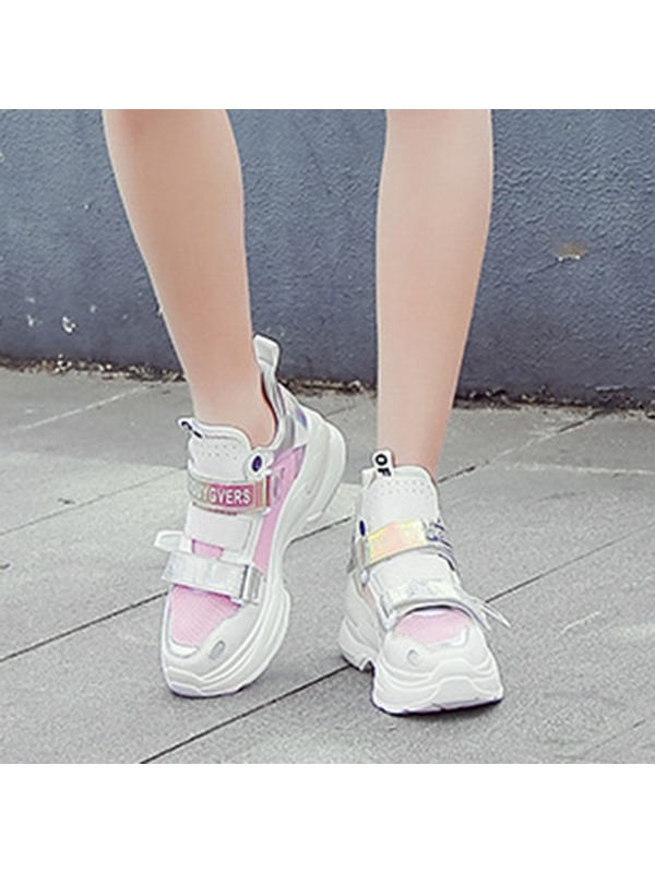 Round Toe Hollow Women's Sneakers