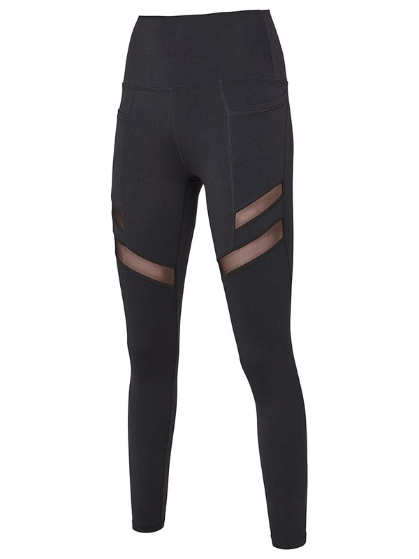 Pockets Mesh Quick Dry Active Leggings