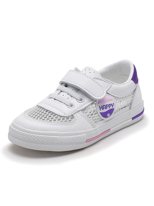 Round Toe Hollow Kid's Sneakers