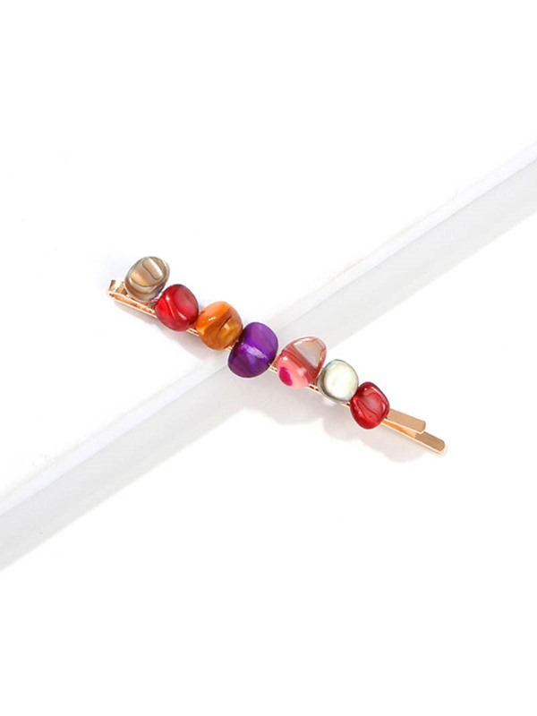 Sweet Hairpin Colour Stone Hair Accessories