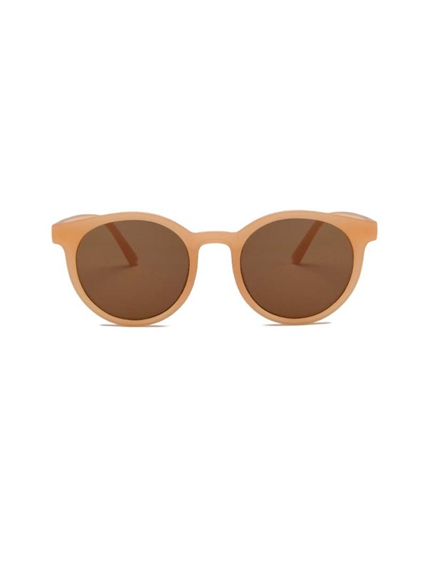 Fashion Round Resin Sunglasses