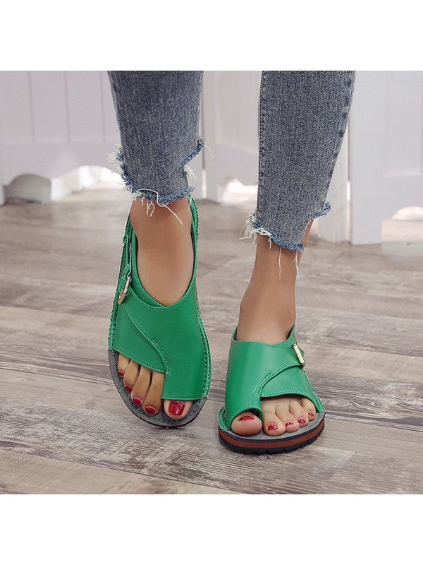 Toe Ring Slip-On Vintage Women's Sandals
