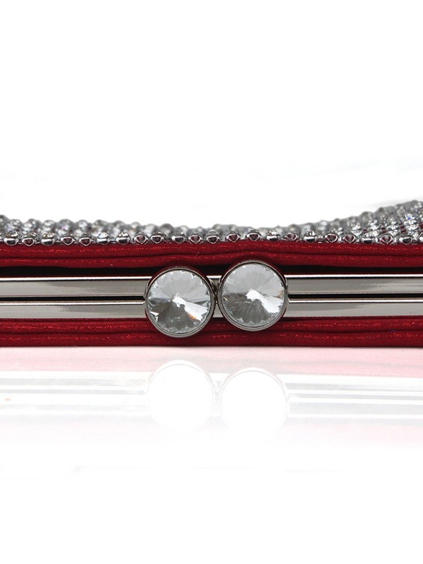 Rectangle Rhinestone Versatile Clutches & Evening Bag