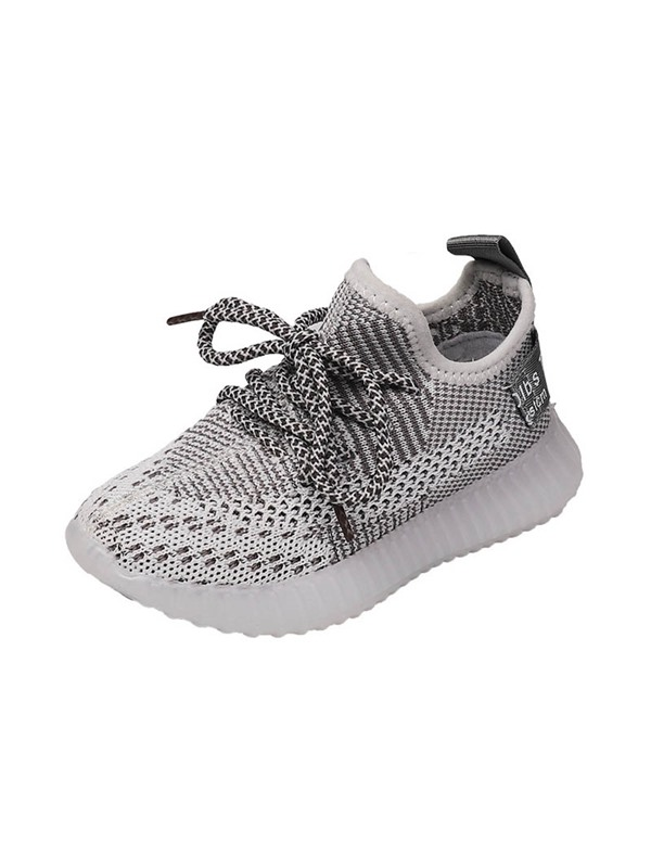Lace-Up Breathable Kid's Sneakers