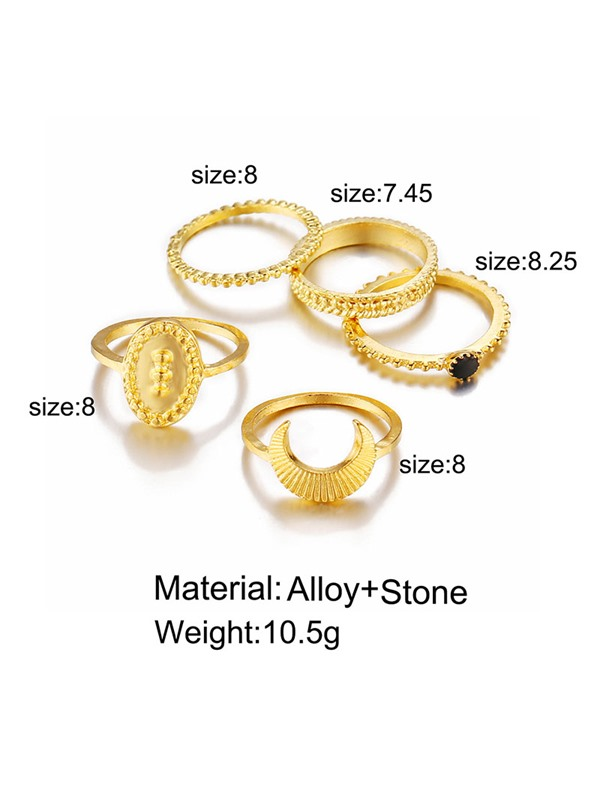 Alloy Vintage Prom Ring