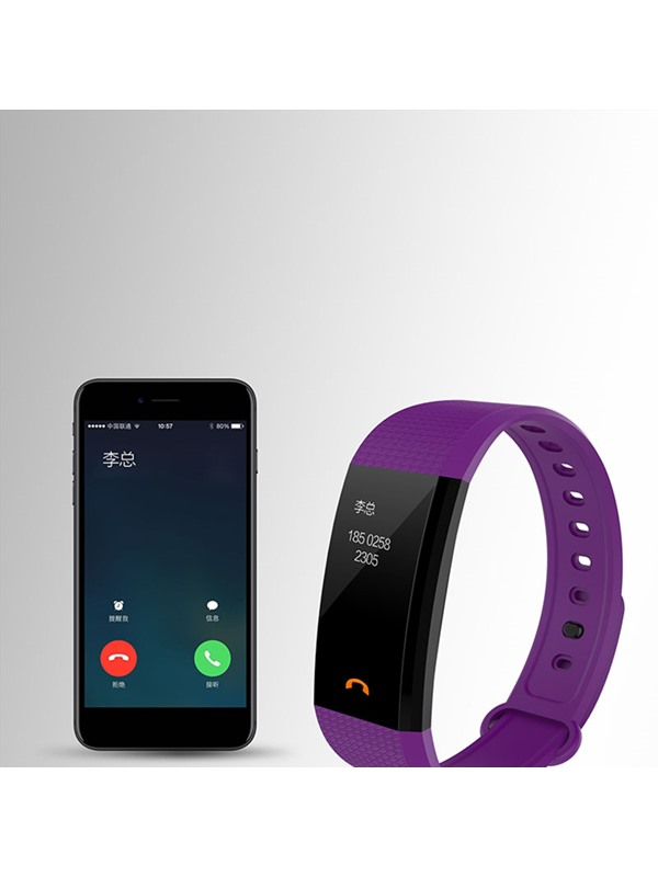 Silicon Touch-Screen Sleep Tracker Smart Wristbands