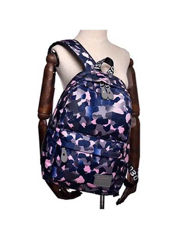Print Nylon Occident Style Backpack