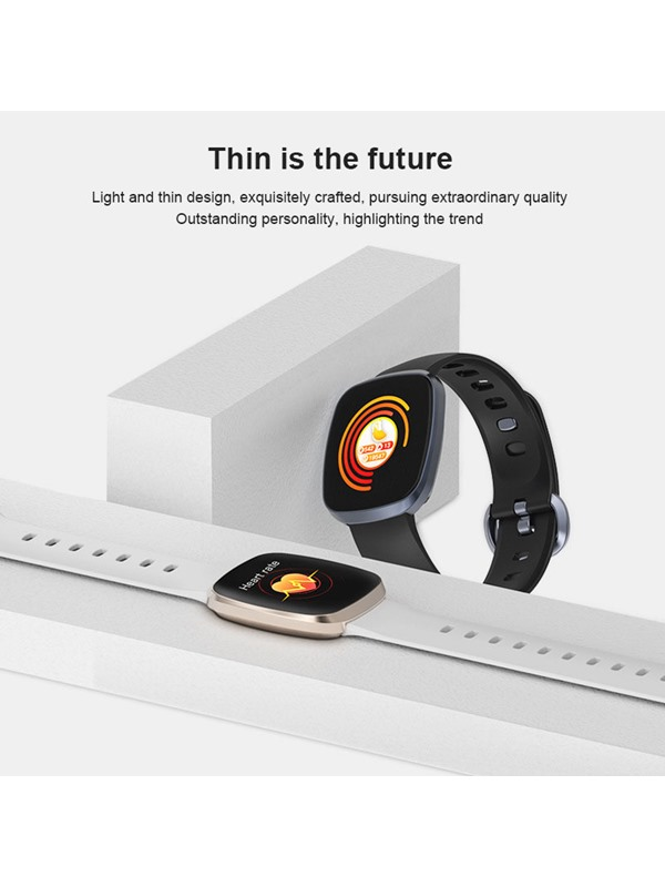 Touch-Screen Silicon Fitness Tracker Smart Wristbands