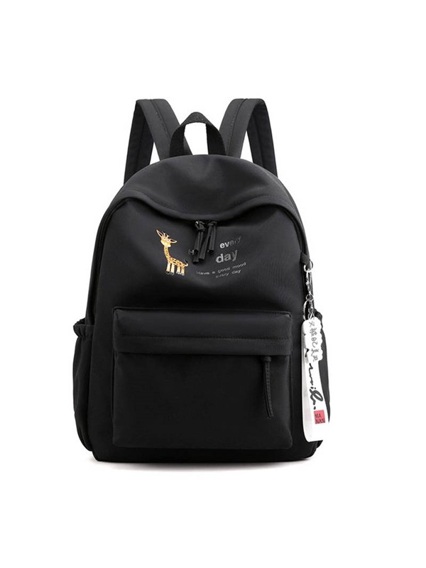 Oxford Cartoon Print Backpack