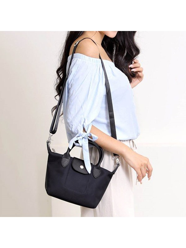 Plain PU Thread Rectangle Tote Bag