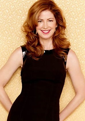 Custom Dana Delany's Hairstyle Long Curly Lace Front Wig about 18 Inches(Free Shipping)