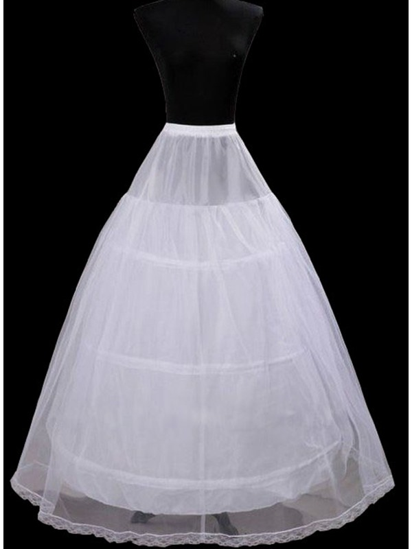 Three Steel Loops Double Layers Wedding Petticoats