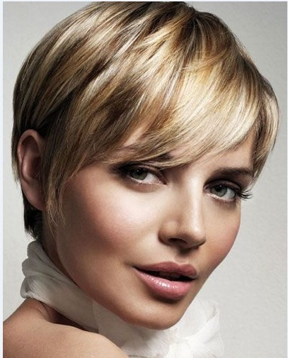 Short Hairstyle Elegant 100% Human Remy Hair Cheap Wig about 6 Inches(Free Shipping)