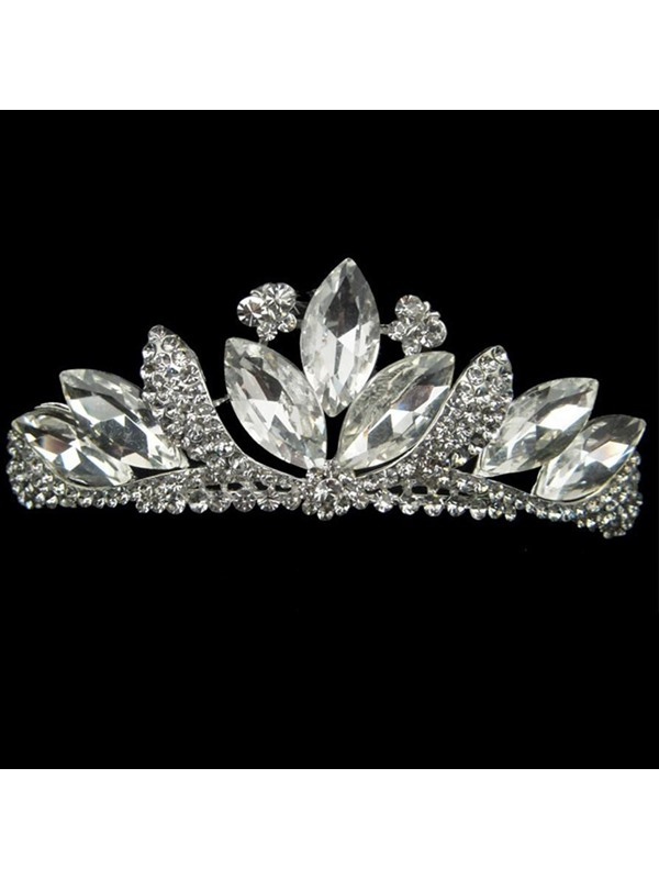 Delightful Alloy with Rhinestone Wedding Bridal Tiara