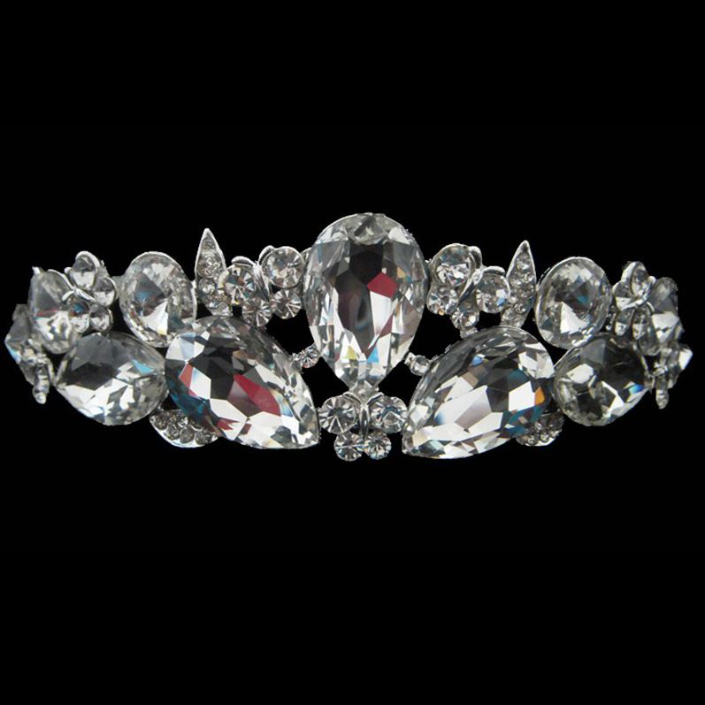 Absorbing Outstanding Alloy with Rhinestone Wedding Bridal Tiara