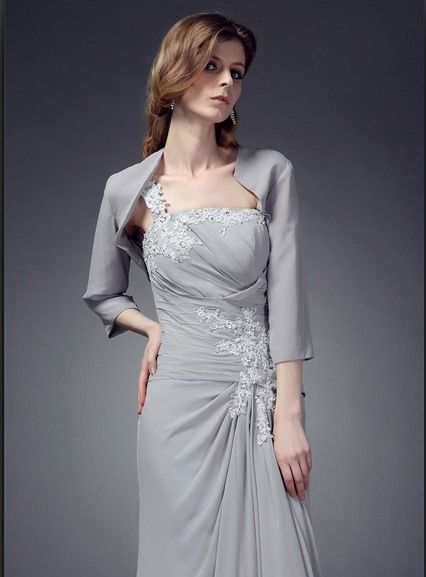 Simple Style 3/4-length Sleeves Wedding/ Party Jackets / Wraps