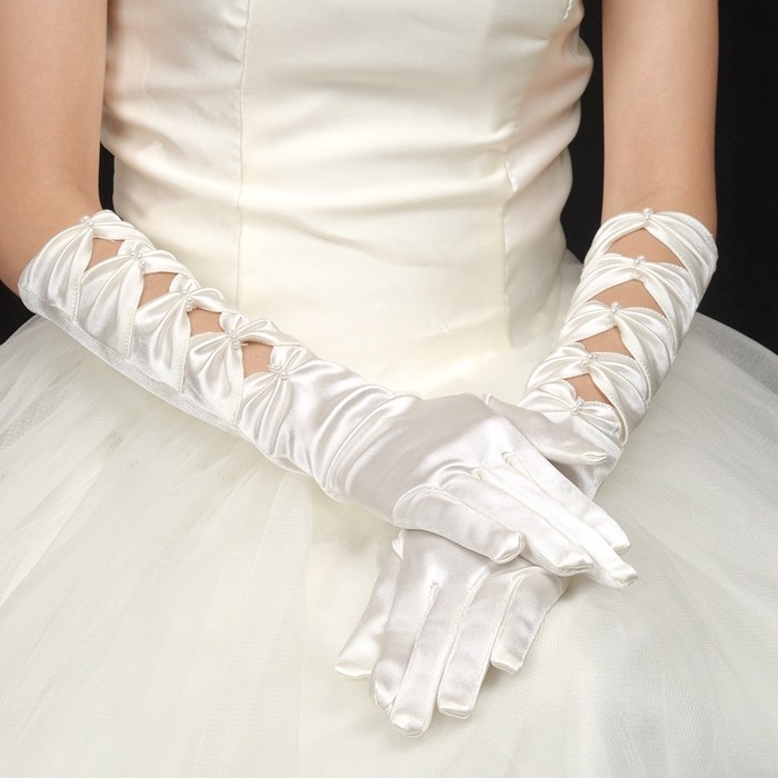 Gorgeous Glove Just For Your Fabulous Wedding Dress(4COLORS)