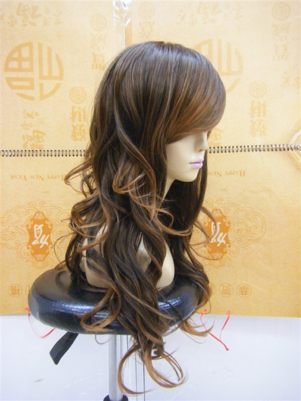 Capless Extra Long Curly Synthetic Hair Wig 16 Inches (Free Shipping)