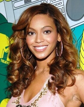 Custom Beyonce Knowles Hair Lace Front Curly Wig 100% Human Hair 18 Inches (Free Shipping)