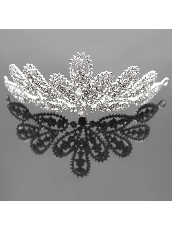 Alloy with Cute Rhinestone Wedding Bridel Tiara