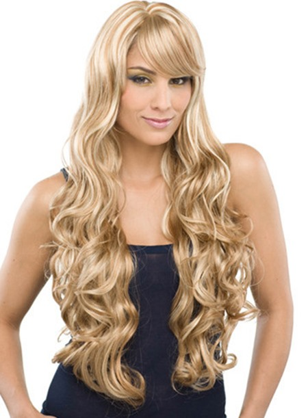 Electra Long Curly Synthetic Hair Wig 28Inches(Free Shipping)