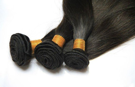 Superb Wholesale Straight Human Hair Weave 100g/Piece(Free Shipping)