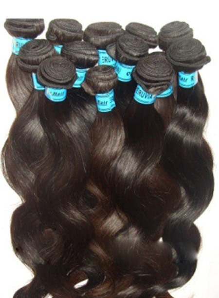 Wavy Human Hair Weave 1piece(Free Shipping)