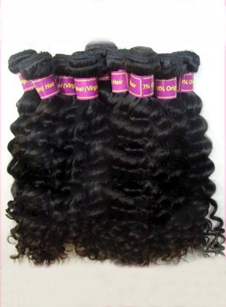 New Top Quality Curly Human Hair Weave 100g/piece