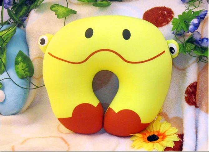 U-shape Neck Guard Pillow with Animal